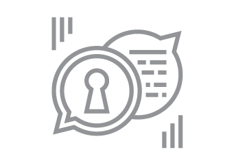 SMS security icon